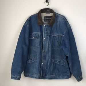 Vintage denim lined jacket